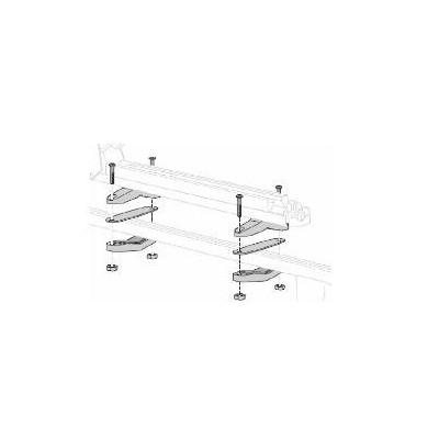 Kit di fissaggio per portasci (barre del tetto di acciaio)