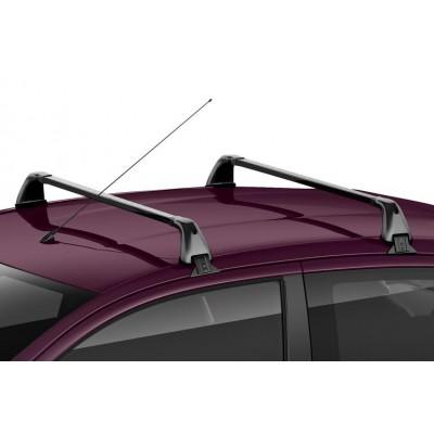 Serie di 2 barre del tetto trasversali Citroën C1 (B4) 5 Porte