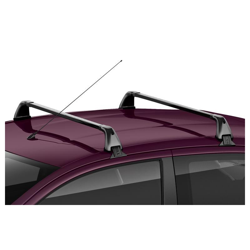 Set of 2 transverse roof bars Citroën C1 (B4) 5 Door