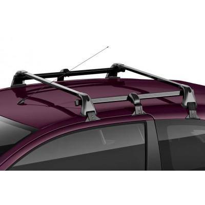 Juego de 2 barras de techo transversales Citroën C1 (B4) 3 Puertas