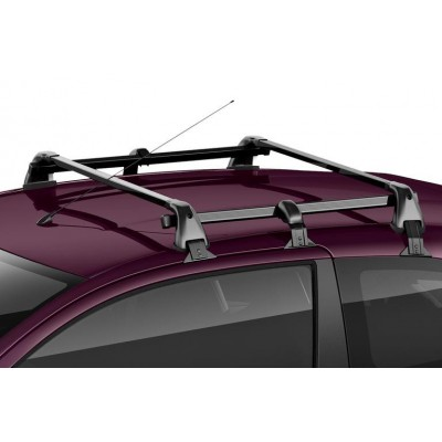 Set of 2 transverse roof bars Citroën C1 (B4) 3 Door