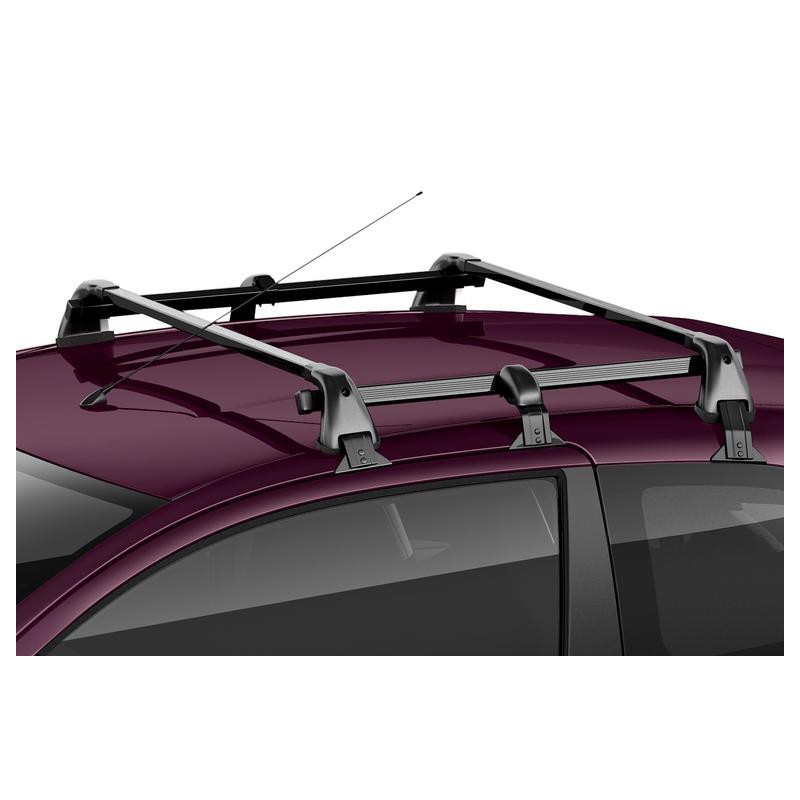 Set of 2 transverse roof bars Citroën C1 (B4) 3 Door