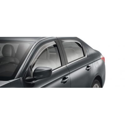 Set of 2 air deflectors for front doors Citroën C-Elysée