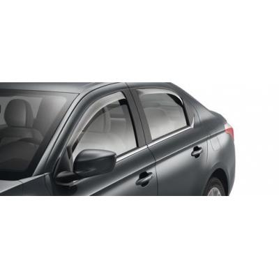 Zadné deflektory Citroën C-Elysée