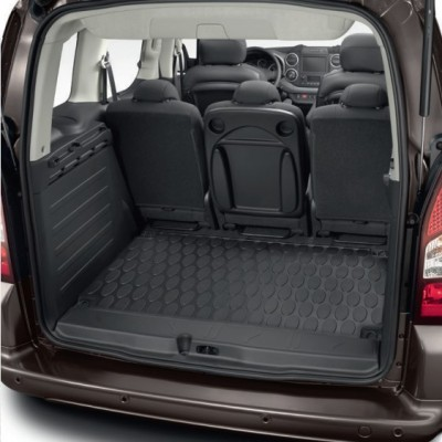 Luggage compartment mat rubber Citroën Berlingo Multispace (B9)