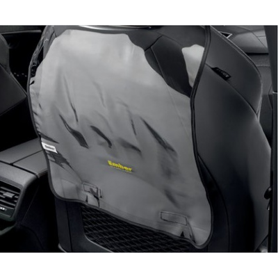 Backrest protector for front seat