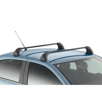 Juego de 2 barras de techo transversales Peugeot 301, Citroën C-Elysée