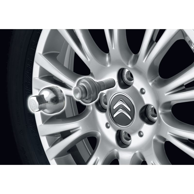 Citroën, DS Automobiles safety screws for alloy wheels