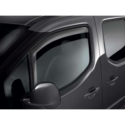 Serie di 2 deflettori dell'aria Peugeot Rifter, Partner (K9), Citroën Berlingo (K9)