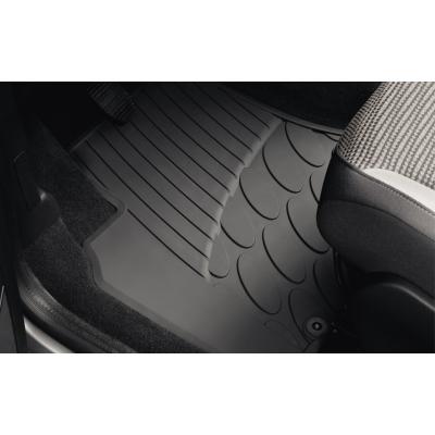 Set of rubber floor mats front Citroën Berlingo (Multispace) B9