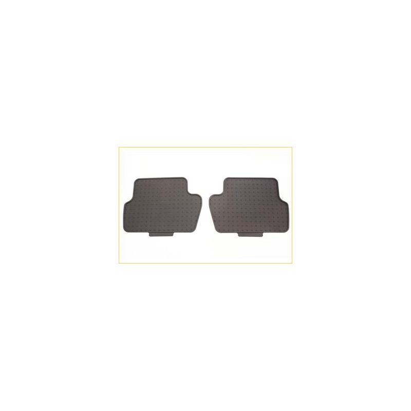 Serie di tappetini in gomma posteriori Peugeot Partner Tepee B9, Citroën Berlingo Multispace B9