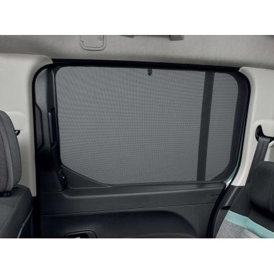 Slnečné clony bočných okien Citroën Berlingo (K9), sťahovacie okná
