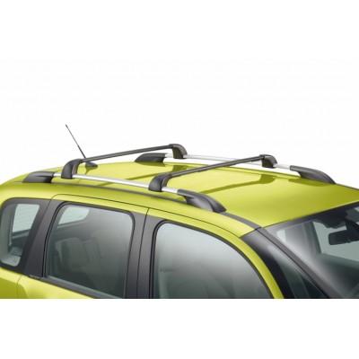 Serie di 2 barre del tetto trasversali Citroën C3 Picasso - con barre