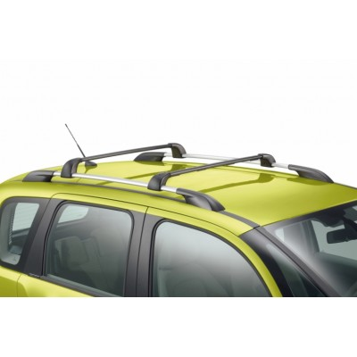 Set of 2 transverse roof bars Citroën C3 Picasso - with bars