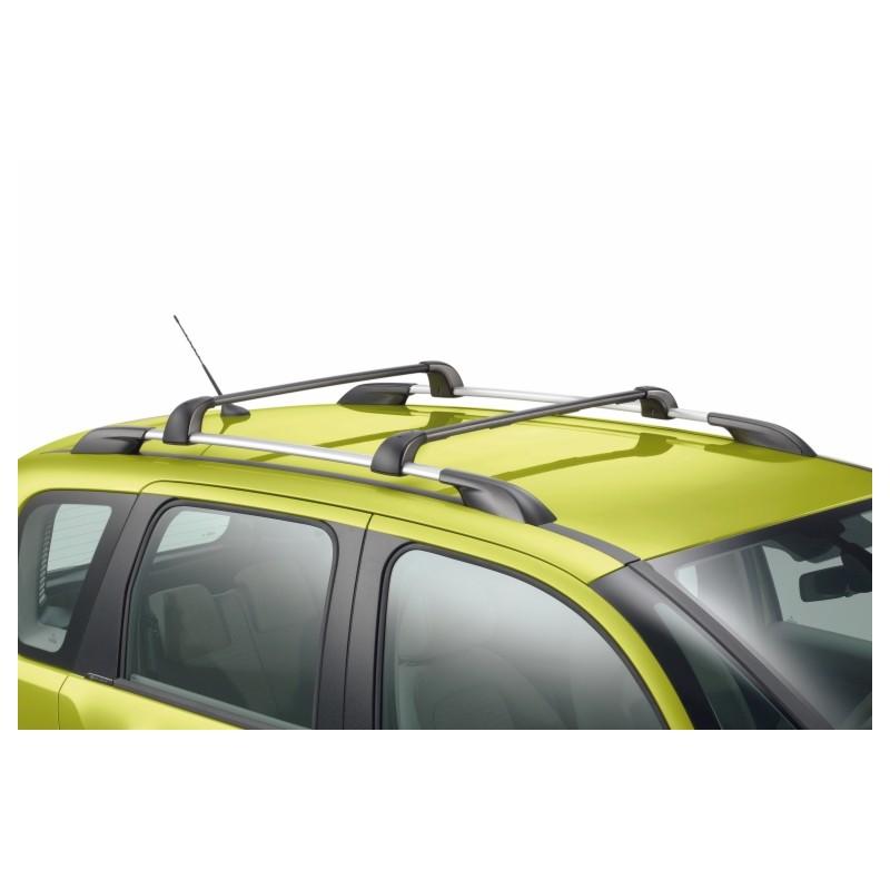 Juego de 2 barras de techo transversales Citroën C3 Picasso - con barras