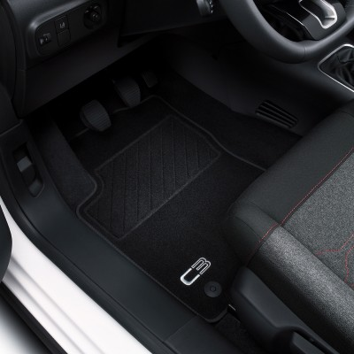 Set of velour floor mats Citroën C3