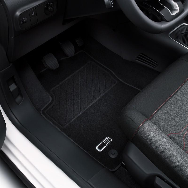 Serie di tappetini in velluto Peugeot 208