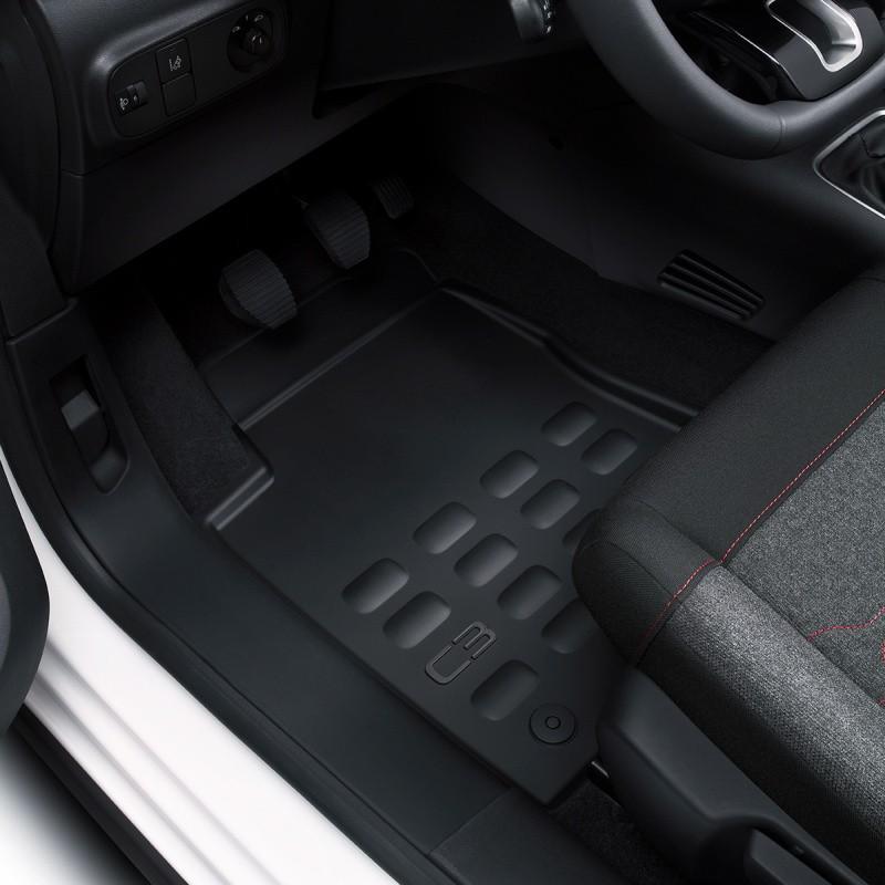 Set of rubber floor mats Citroën C3