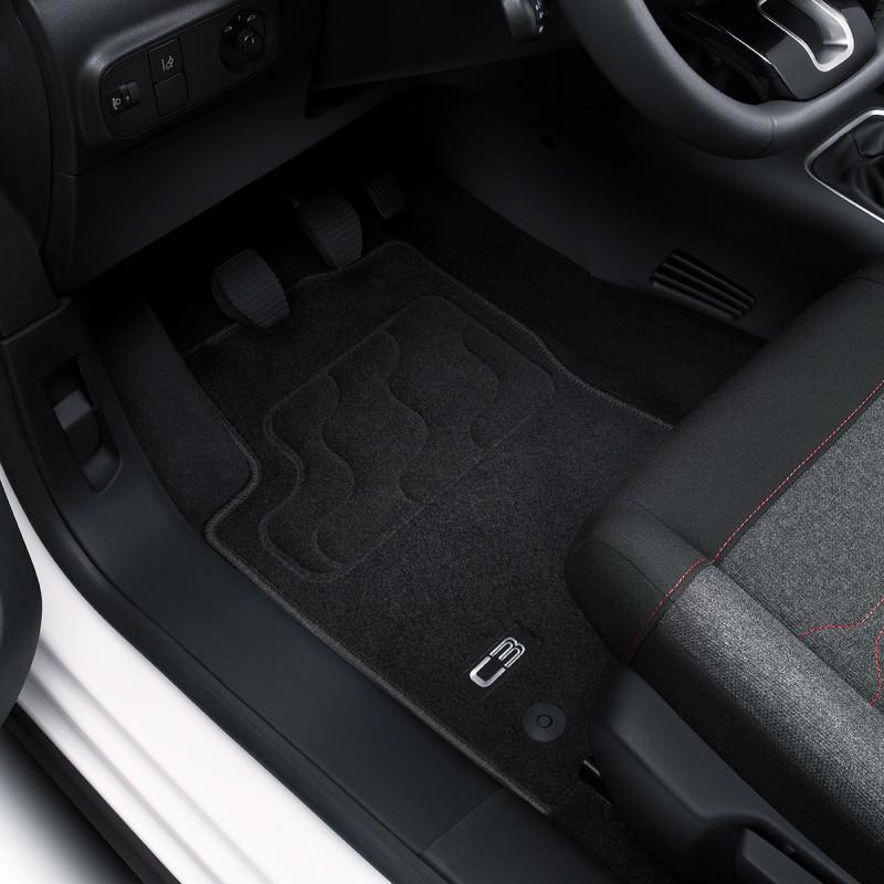Juego de alfombrillas de moqueta acordonada Citroën C3