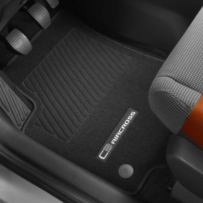Serie di tappetini in moquette agugliata Citroën C3 Aircross