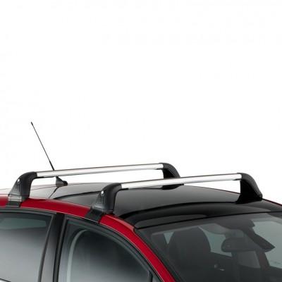 Serie di 2 barre del tetto trasversali Citroën C4 (B7)