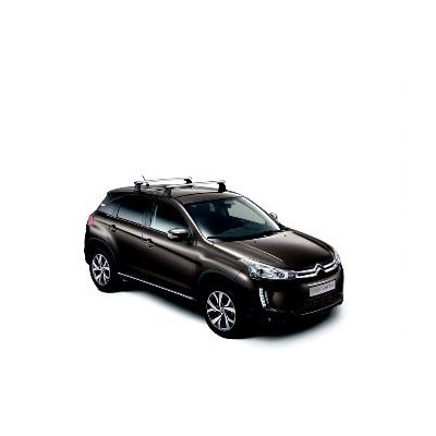 Set of 2 transverse roof bars Citroën C4 Aircross