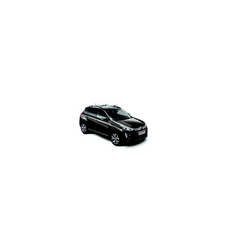 Juego de 2 barras de techo transversales Citroën C4 Aircross