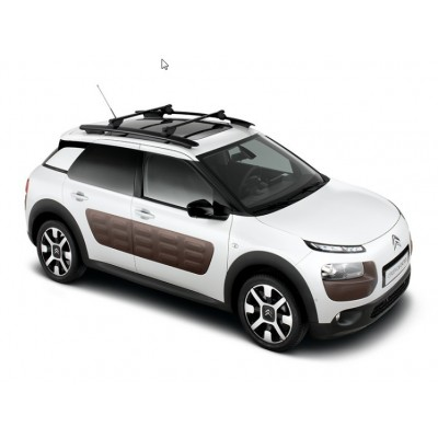 Set of 2 transverse roof bars Citroën C4 Cactus