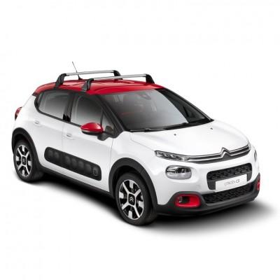 Střešní nosiče Citroën C3