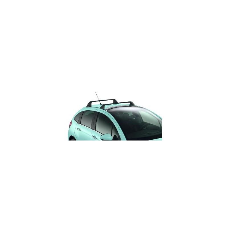 Střešní lišty Citroën C3 - s čelním sklem ZENITH