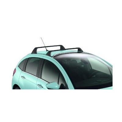 Set of 2 transverse roof bars Citroën C3 - with ZENITH windscreen