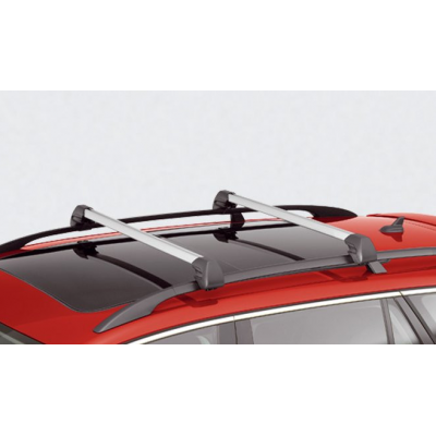 Set of 2 transverse roof bars Citroën C5 II Tourer