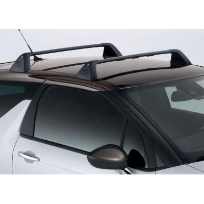 Serie di 2 barre del tetto trasversali Citroën DS 3