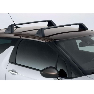 Set of 2 transverse roof bars Citroën DS 3
