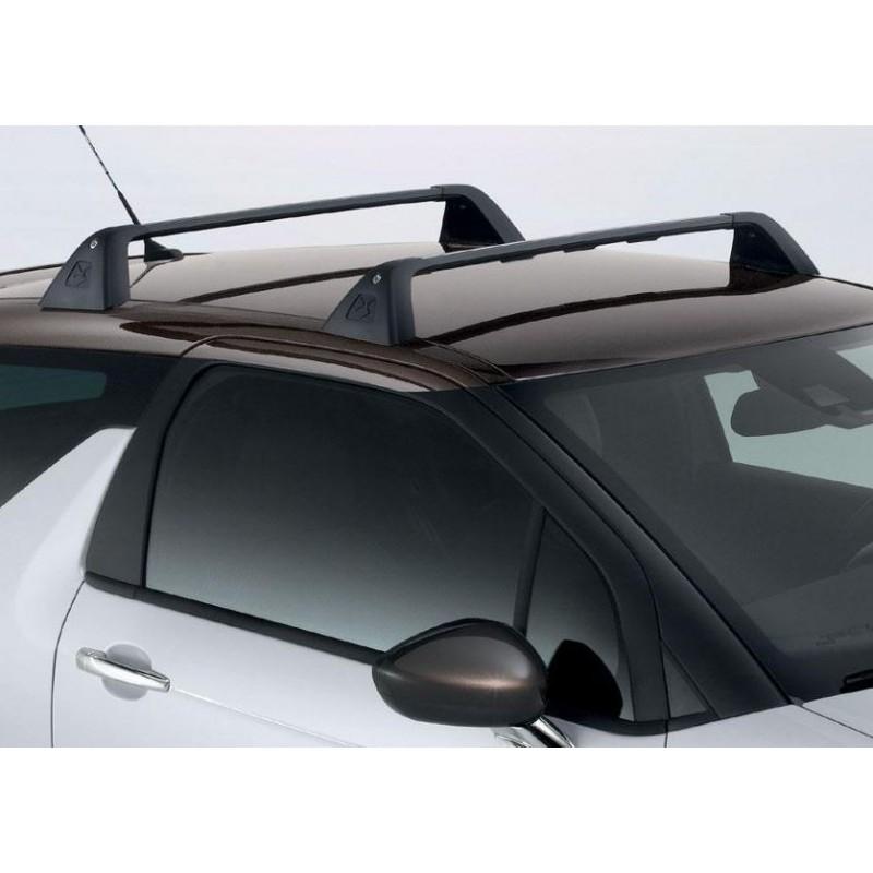 Set of 2 transverse roof bars Citroën DS 3