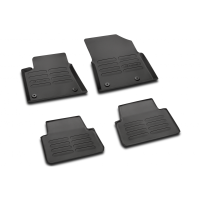 Set of rubber floor mats Citroën C3 Picasso