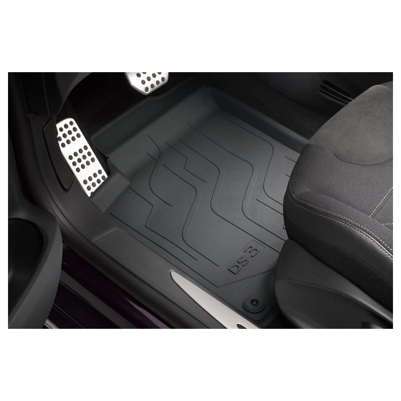 Set of rubber floor mats Citroën DS 3