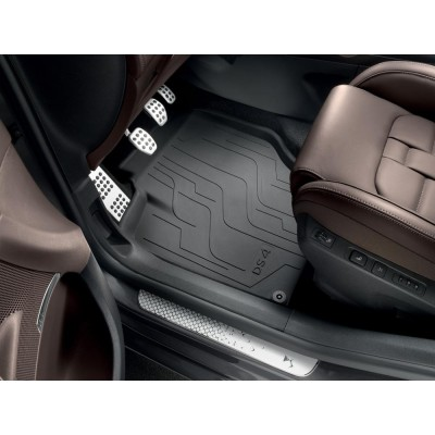 Set of rubber floor mats Citroën DS 4