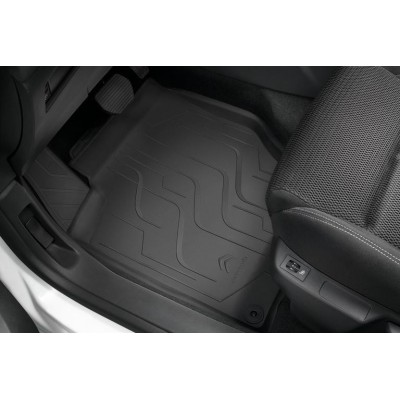 Set of rubber floor mats Citroën C4 (B7)