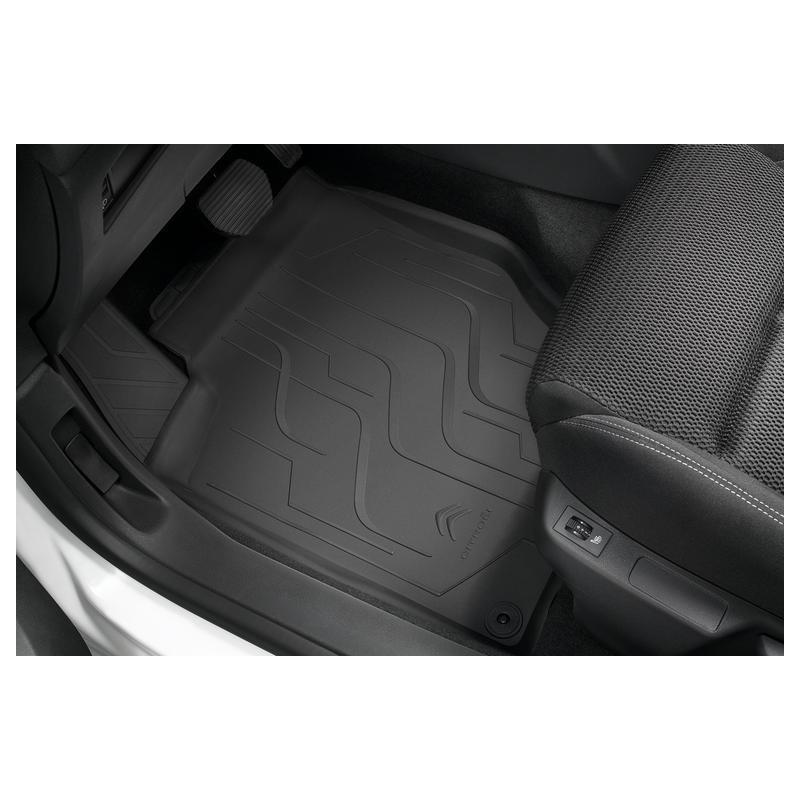 Set of rubber floor mats Citroën C4 (B7)