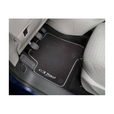 Set of velour floor mats Citroën C3 Aircross