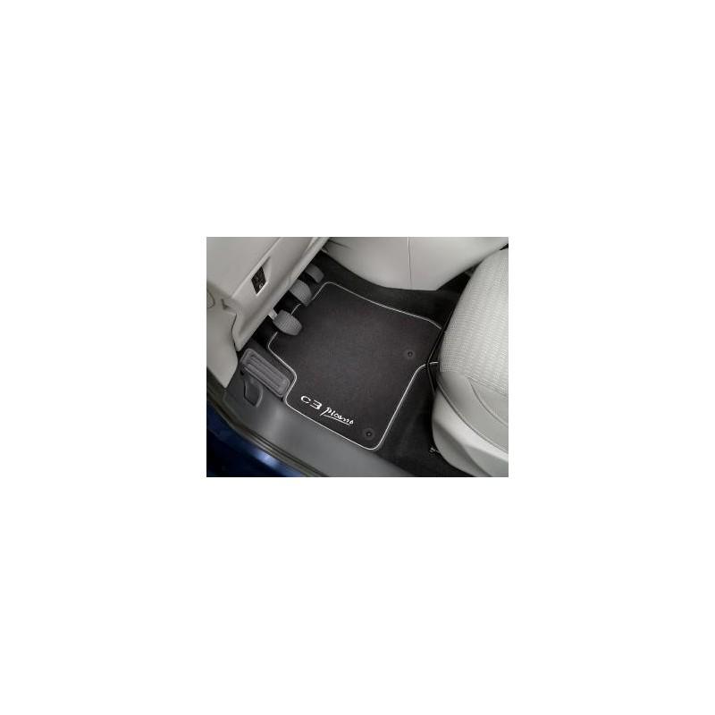 Juego de alfombrillas de terciopelo Citroën C3 Aircross
