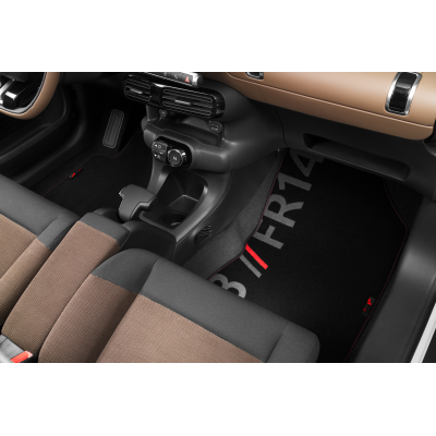 Serie di tappetini in velluto CODE Citroën C4 Cactus