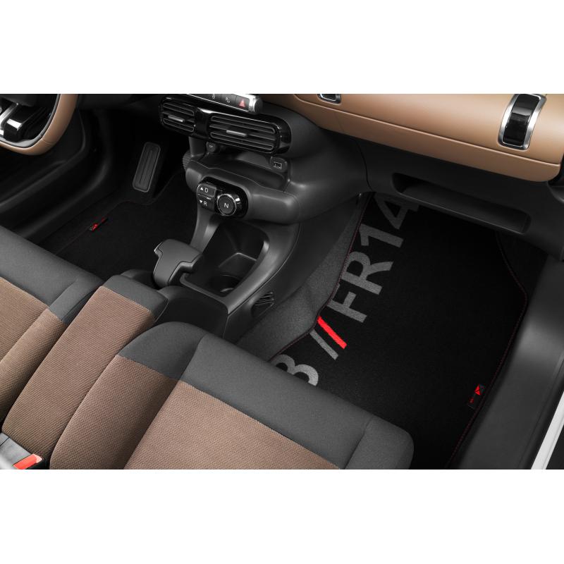 Set of velour floor mats CODE Citroën C4 Cactus