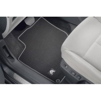 Set of velour floor mats Citroën C4 (B7)