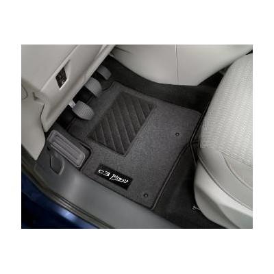Juego de alfombrillas de moqueta acordonada Citroën C3 Picasso