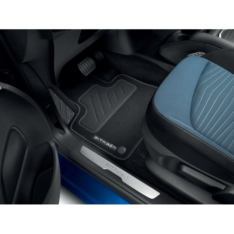 Set of needle-pile floor mats Citroën Grand C4 SpaceTourer