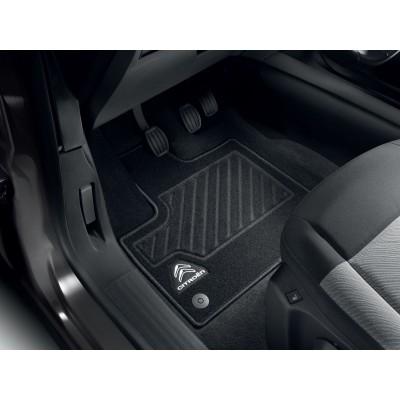 Serie di tappetini in moquette agugliata anteriori Citroën Berlingo (K9)