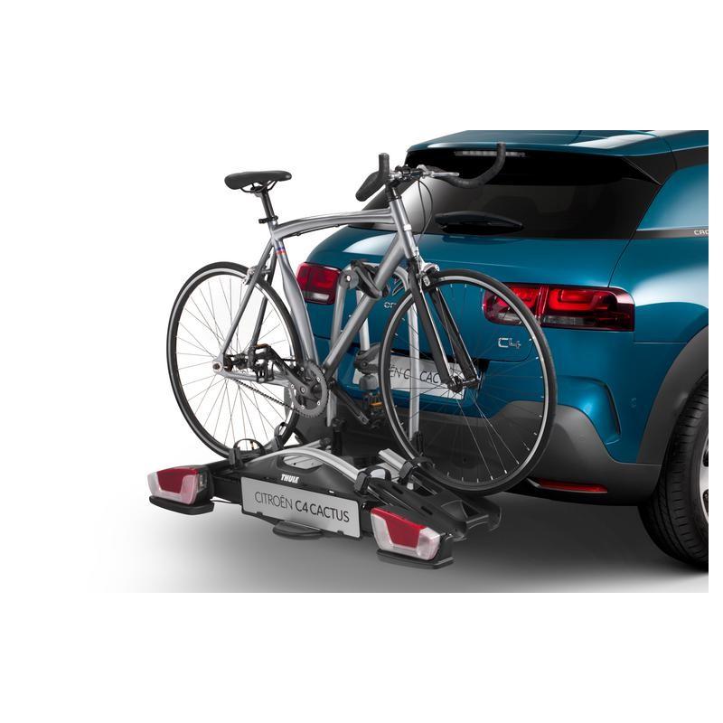 Thule Coach 274 Portabicicletas fijado al enganche de remolque 2 bicicletas