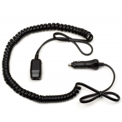 Extension cord to connect to the cigarette lighter